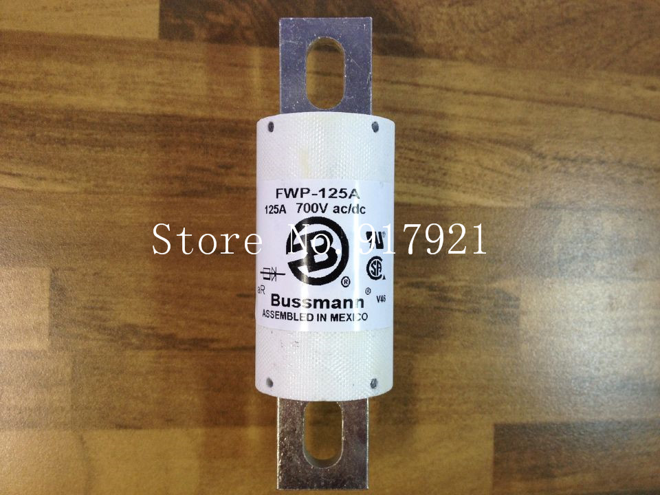 [ZOB] The United States Bussmann FWP-125A BUSS 700VAC/DC fuse fuse original --2pcs/lot [zob] the united states bussmann 250nh1 g690 250a buss 690v original fuse 2pcs lot