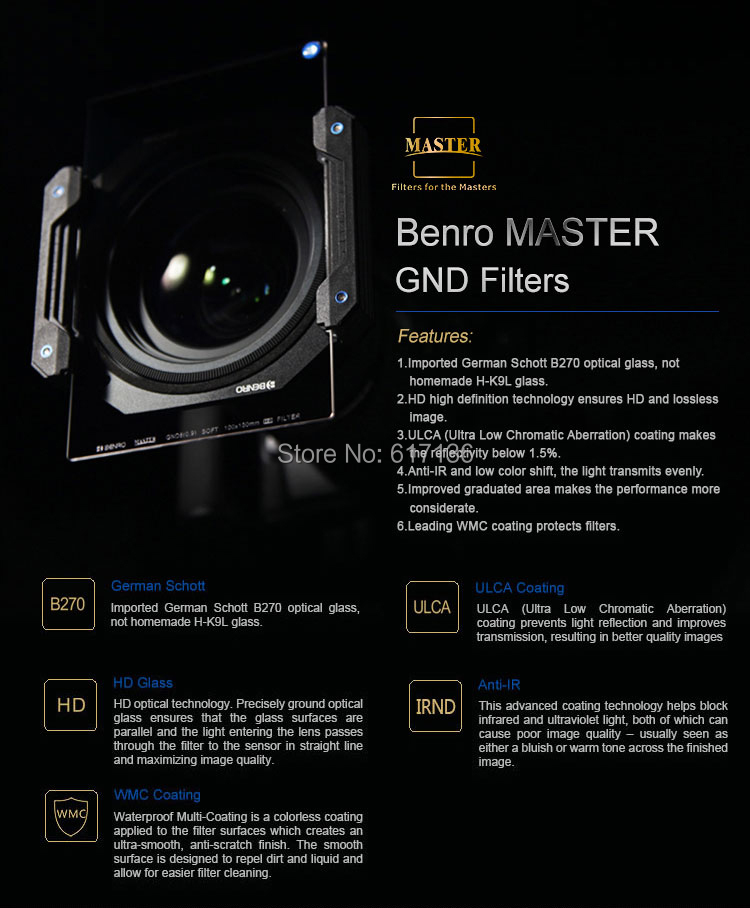 BENRO 170mm Filter 05