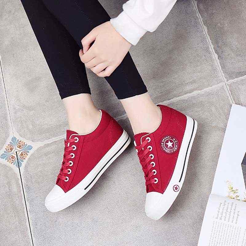 Вулканизированные кроссовки на танкетке; женская летняя повседневная парусиновая обувь; Basket Femme; кроссовки; женская джинсовая обувь на плоской подошве; zapatos mujer; большие размеры