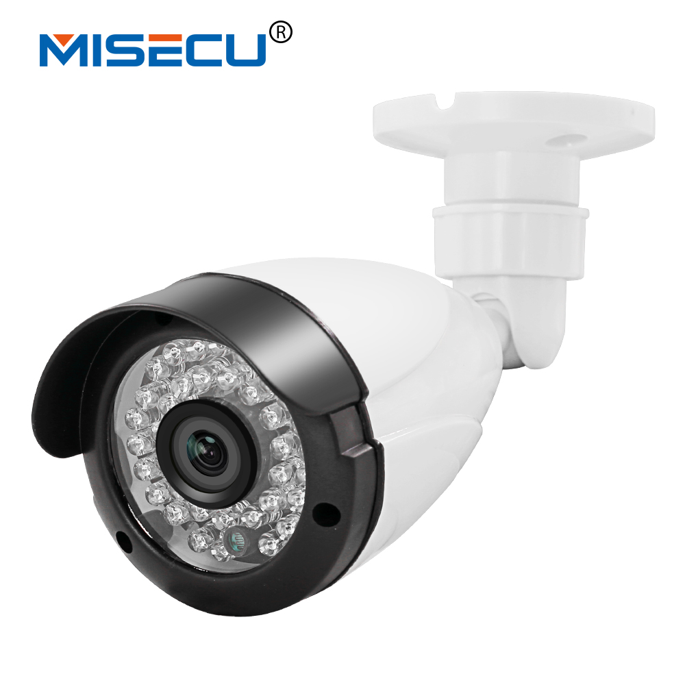 MISECU HD 720P 960P 1080P Bullet security Surveillance CCTV IP Camera 48V POE 36p IR night vison ONVIF network P2P phone view zea afs011 600tvl hd cctv surveillance camera w 36 ir led white pal