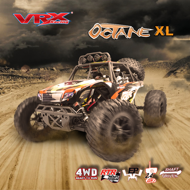 VRX Racing RH1045 OCTANE desert card 1 10 scale Electric 4WD brushless RTR 45A ESC 3650
