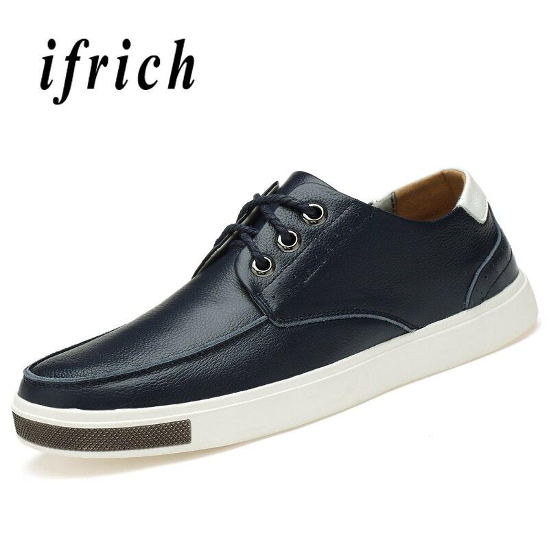 Masculino Casuais Pu Sapatos Casual Homens Black Preto Homem Para Anti Moda Andando Calçado Confortável slip Azul Da blue Couro De Tênis CZx8pZwUq