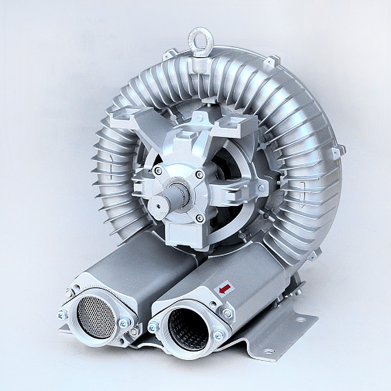 Free Shipping Single Stage850 W Belt Driver Air Bloweru0026bare Shaft Blower  For Industry Use