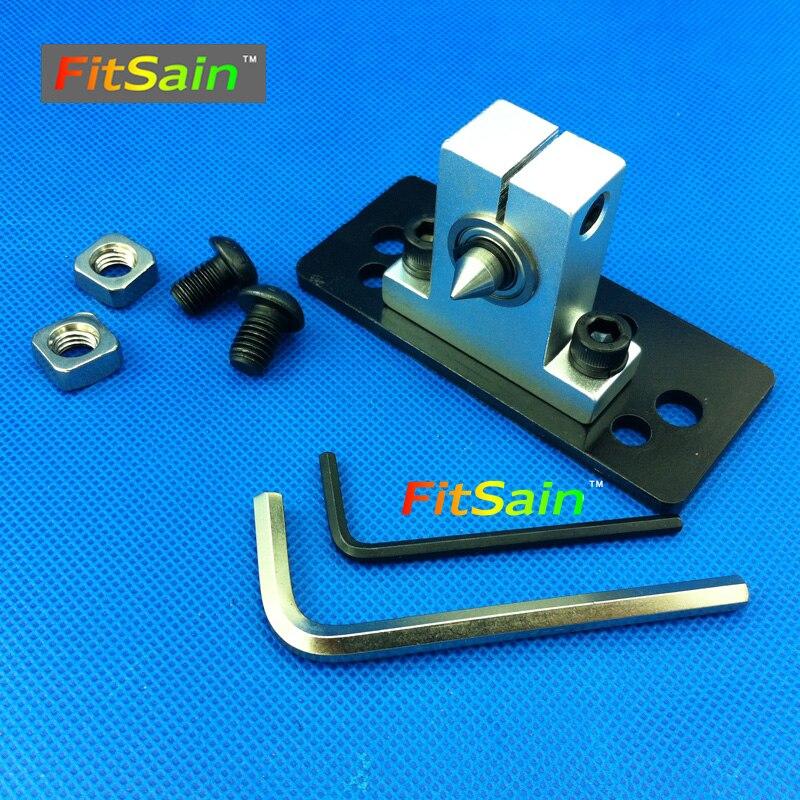 FitSain - precíziós központ esztergagépekhez. Forgóközpont DIY kiegészítők mini esztergáláshoz