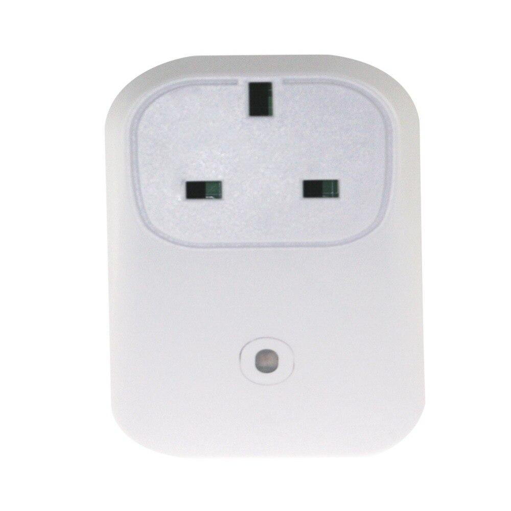 imágenes para Nueva casa inteligente broadlink wifi toma de corriente 16a + timer ue ee.uu. enchufe enchufe de teléfono inteligente inalámbrico controles para ios cojín androide