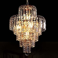 Luxury Royal Golden Crystal K9 Chandelier Crystal Golden Chandeliers Hall Living Room Lighting lustre de cristal