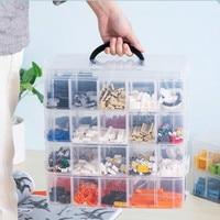 Children's toy storage box building block storage box plastic storage box transparent sorting box LM01151858