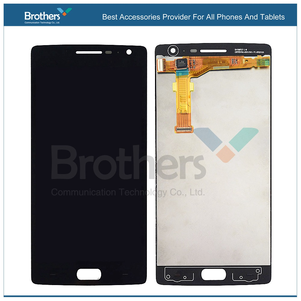 Original For <font><b>Oneplus</b></font> <font><b>2</b></font> LCD Display <font><b>Screen</b></font> + Digitizer Touch <font><b>Screen</b></font> Full Assembly For <font><b>Oneplus</b></font> Two <font><b>Replacement</b></font> Mobile Phone image