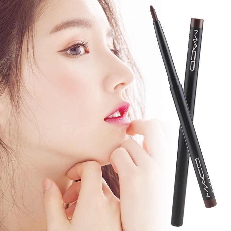 1 PCS עיניים איפור עיפרון אייליינר Waterproof גבות יופי עט אייליינר ליפ מקלות קוסמטיקה עיני איפור