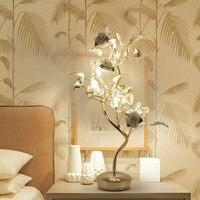 Europeu de cristal lâmpada de mesa candeeiros de mesa de cabeceira quarto sala de estar de casamento quente luz el luxor hotel villa iluminação da decoração