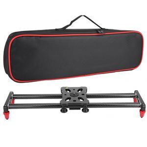 Image 5 - 42cm 카메라 슬라이더 탄소 섬유 카메라 트랙 슬라이더 비디오 안정기 DSLR 레일 캠코더 촬영 슬라이더 카메라 1/4 나사