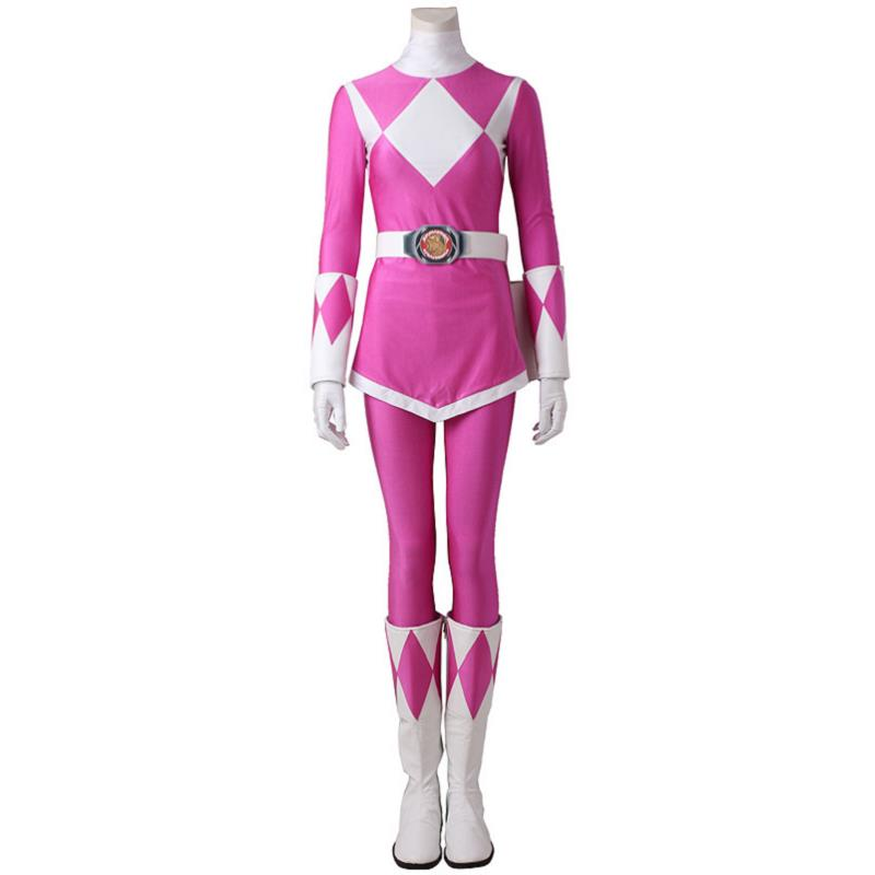 Costume For Ptera Ranger Mei Zyuranger Cosplay Costume Outfit Halloween Superhero Adult Women Party Custom Made With Boots