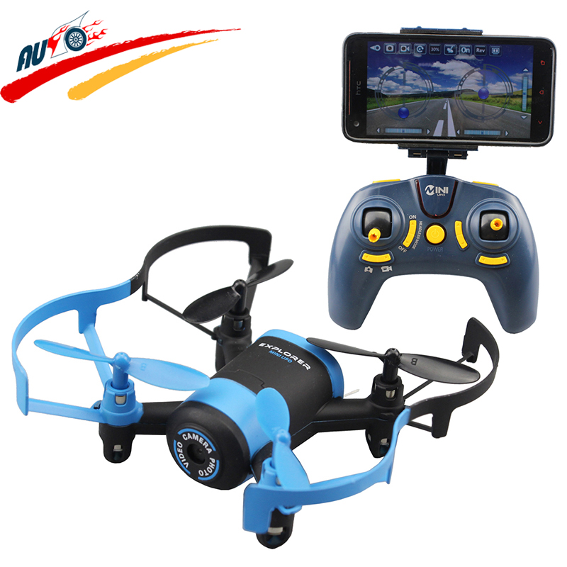 RC Drone WIFI FPV Helicopter HD 0.3MP Camera 2.4G Mini Remote Control Quadcopter One-Key-Return & Headless Model Electronic Toy цена