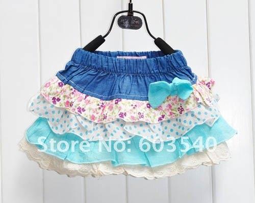 Online Shop 2011 Autumn hot girls skirt, Cotton short skirt ...