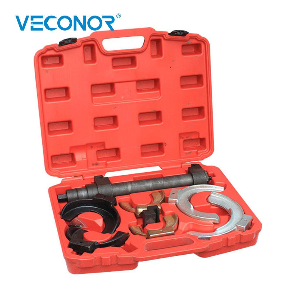 Strut coil spring compressor dumper extractor tool