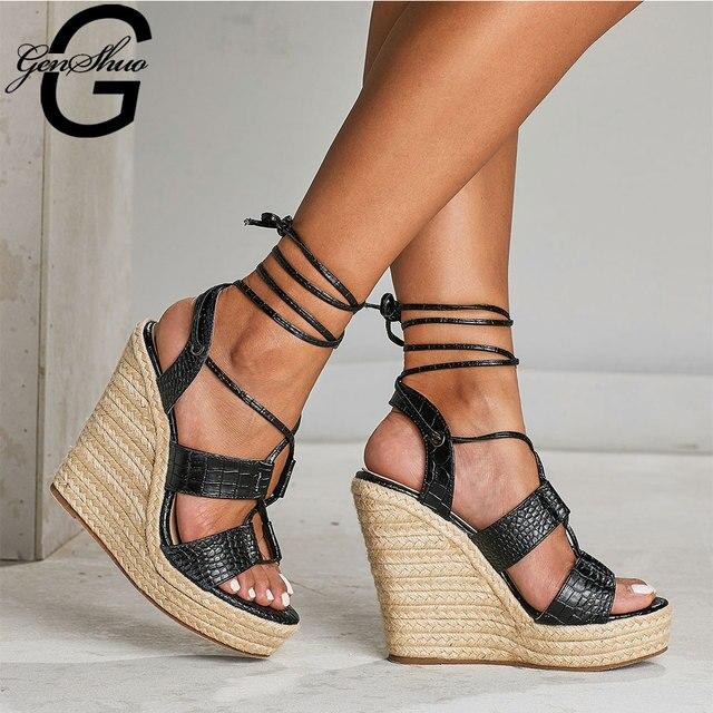Cross Ankle Straps Roman Sandal 1