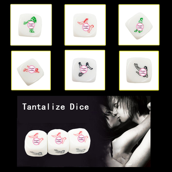 6 Positions Fun Acrylic Dice Love Dice Sex Dice Erotic Dice Love Game Toy Couple Gift Romance Love Humour Gambling Adult Games acrylic 10 side game dice green 5 pcs
