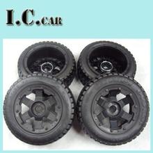 BAJA 5T Onroad wheel & tyres set for 1/5 HPI Baja 5T Parts Rovan KM