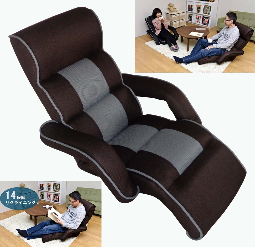 Lounge Sofa Furniture Upholstered Arm chair Floor Seating 4 Color Modern Leisure Foldable Daybed Sofa Chair Lounger Recliner modern floor leisure chair brown color portable floor foldable recliner lounge upholstered modern fashion leisure sofa chair