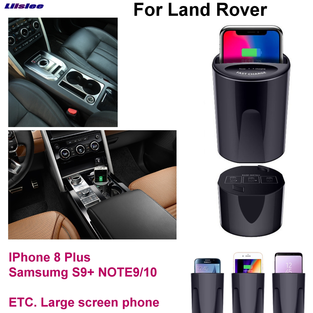 Car Qi Fast Wireless Charging Fast charger For Rover Discovery Sport Evoque Velar