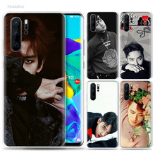 EXO D.O Case for Huawei P20 P30 P Smart Z Plus 2019 P10 P9 P8 Mate 10 20 lite Pro Silicone Fashion Luxury Phone Bags Fundas Capa(China)