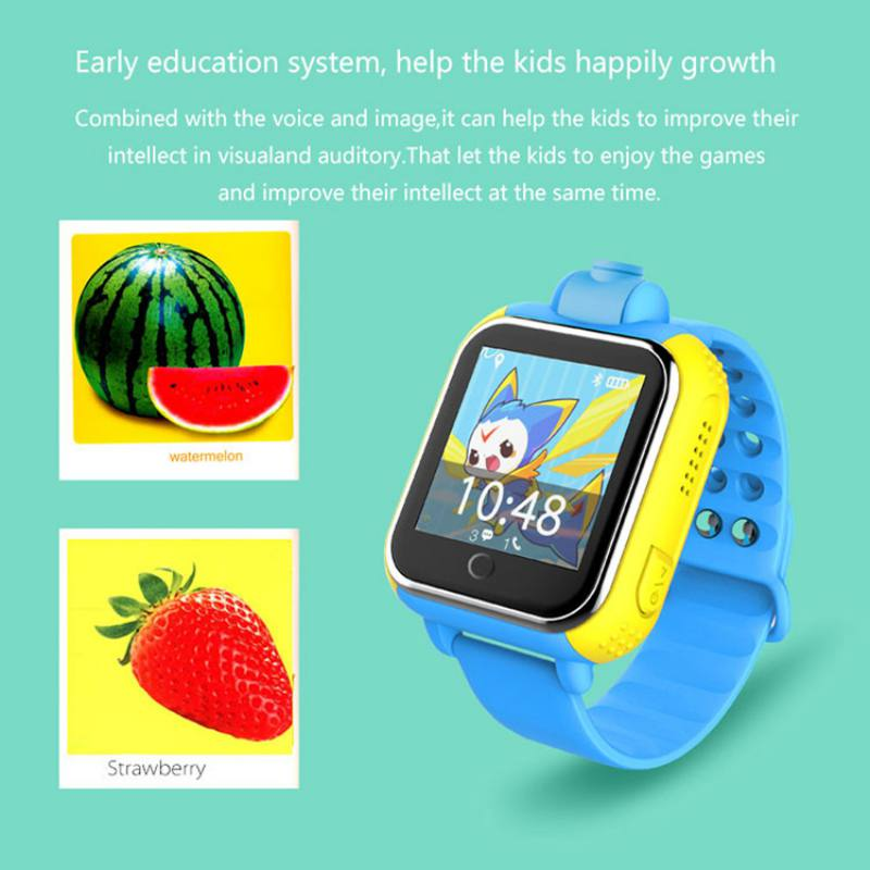 """מזגנים 3G Smart שעונים מצלמה מרחוק GPS LBS WIFI מיקום שילדים צופים GPS 1.54 """""""" מסך מגע חכם Tracker SOS עבור טלפון אנדרואיד IOS (5)"""