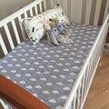 Muselina Del Árbol de ropa de Cama de Bebé Estilo de Dibujos Animados Bebé Equipada Cuna Cuna hoja recién nacido niñas niño ropa de cama de 115*150 cm baby bedding set