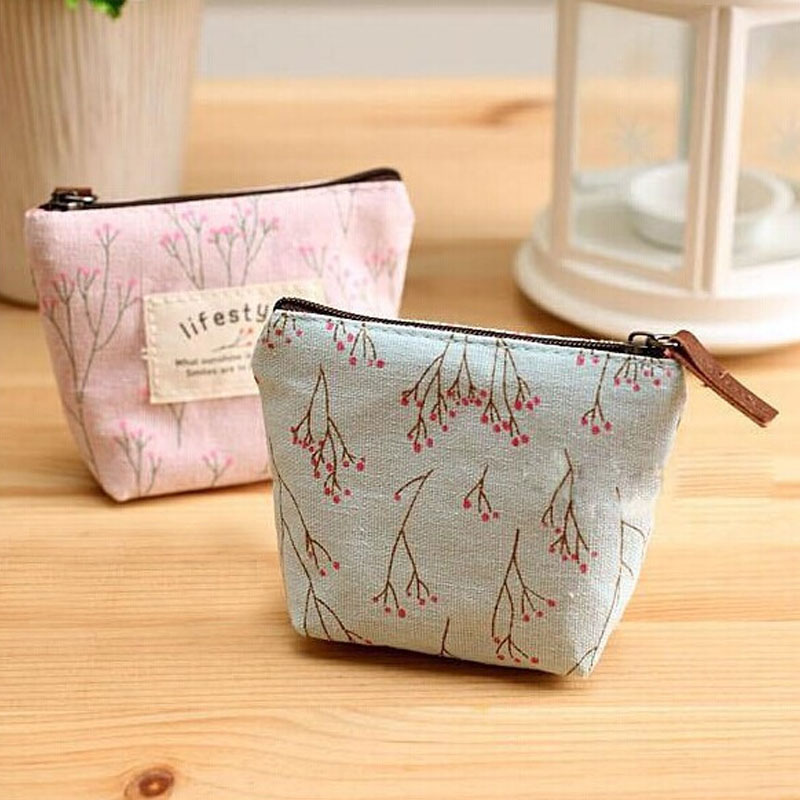 Floral Style Coin Purse Women Small Wallet Canvas Bags Cute Money Key Holders Pouch Female Purse Zipper Bag Free ShippingFloral Style Coin Purse Women Small Wallet Canvas Bags Cute Money Key Holders Pouch Female Purse Zipper Bag Free Shipping