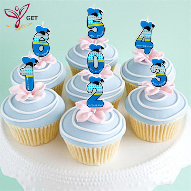 1pcs Digital Donald Duck Birthday Party Dress Up Kids Creative