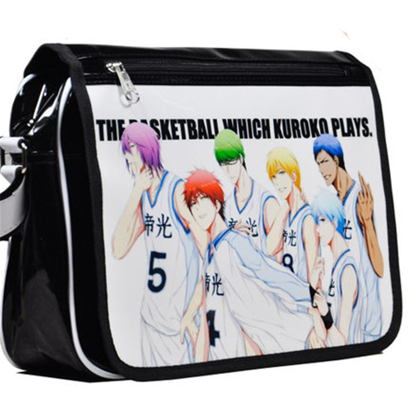 Kurokos Basketball Bag Tetsuya Kuroko Cosplay Shoulder Bag Cartoon Student Laptop Messen ...