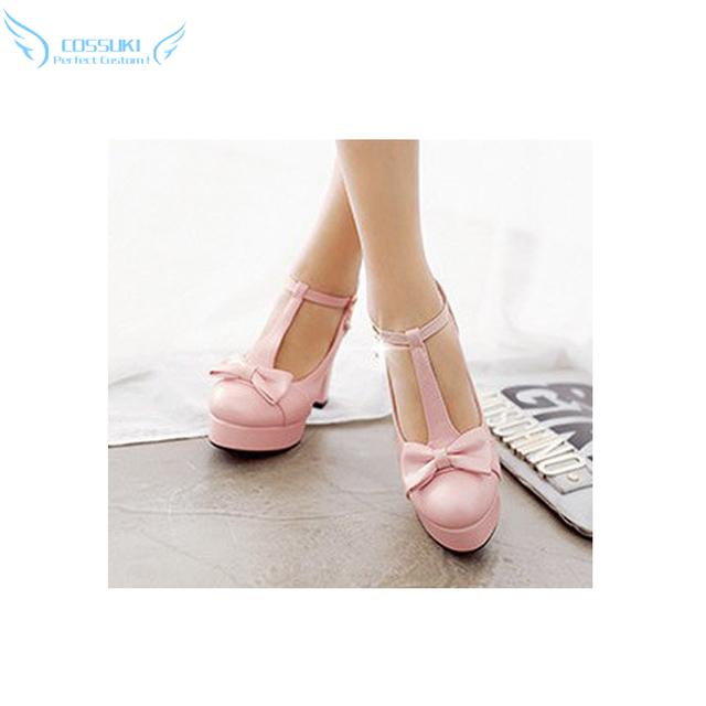 Y Usted Pensó Que Nunca Hay Una Chica En Línea? Ako Tamaki Cosplay Shoes Boots Profesional Hecho A Mano! Personalizado perfecto para Usted!