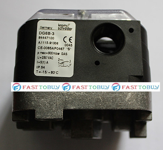 New Arrival Original Pressure Switch for Gas DG6B-3 For Burner New new original pressure switch dg10u 3