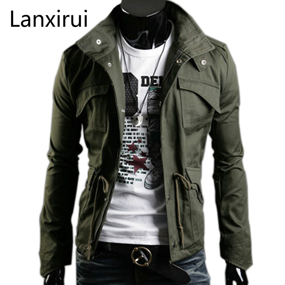 Fast Shipping Fashion Men's Jackets, Autumn Overcoat,outwear, Spring Jacket, Men's Coat ,5color,6size,dropshipping G04