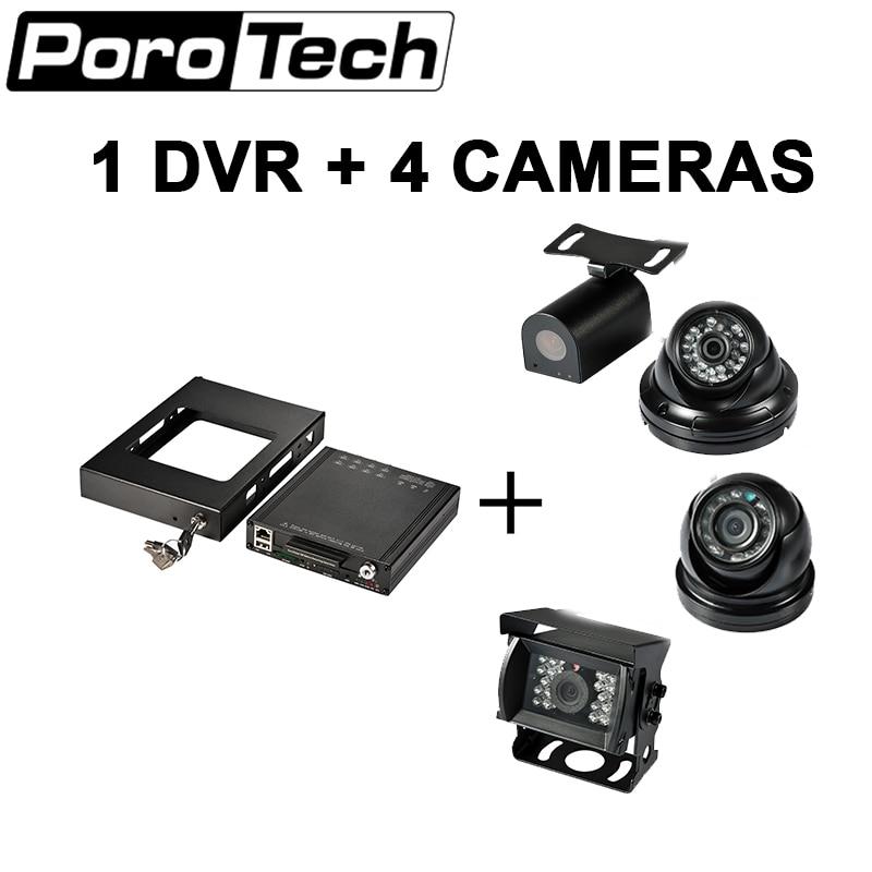 HDVR8045 New Bus camera 4CH HDD / SSD MDVR support GPS 3G G-sensor 4G WIFI DVR DHL shippping free стоимость
