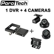 HDVR8045 New Bus camera 4CH HDD / SSD MDVR support GPS 3G G-sensor 4G WIFI DVR DHL shippping free