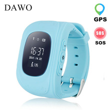 DAWO Q50 Kids Smart Watch SOS Call for Children Wristwatch GPRS GPS Locator Mobile Phone Anti