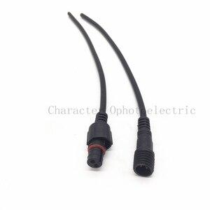 5 par 2 pin 3 pin 4 Pin 20cm złącza gniazdo wtykowe 0.2mm 24AWG LED kabel drutu listwy LED wodoodporny IP65 męski/żeński