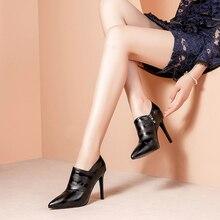 Ciuman Basah Musim Gugur Cetak High Heels Wanita Pompa Menunjuk Toe Sepatu Zip Fashion Wanita Sepatu Kulit Sapi Sepatu Wanita 2020 Baru sepatu