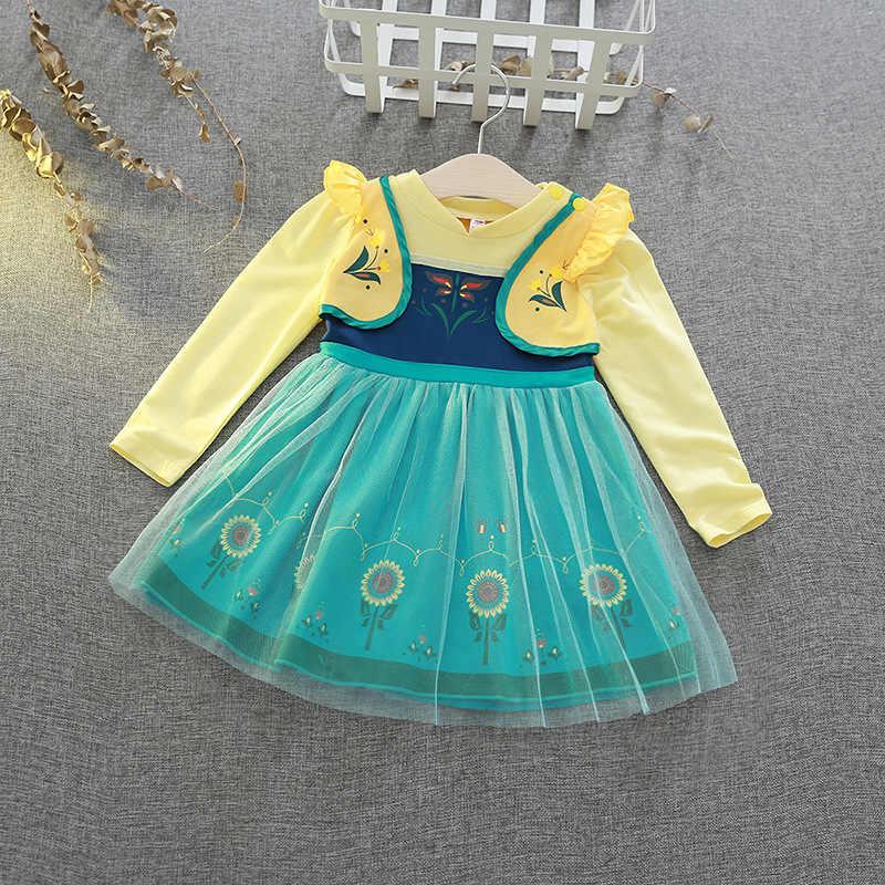 ドレスのためのプリンセス白雪姫子供パーティードレス王女ソフィアアリスカーニバル衣装女の赤ちゃん服キッズ幼児