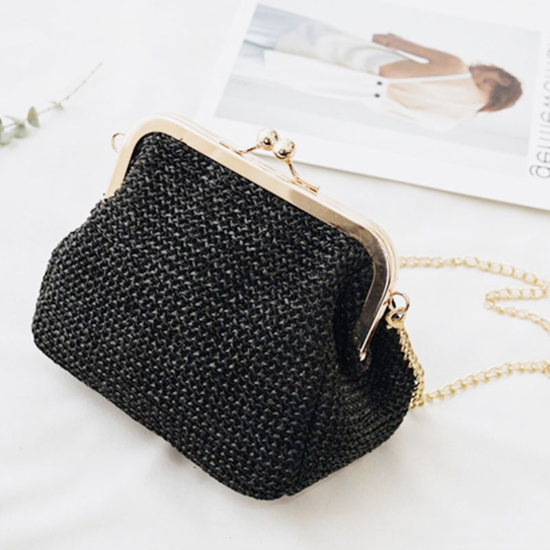 11.11 Small Crossbody Boho Bags For Women Evening Clutch Bags Ladies Handbag Female Straw Shoulder Beach Rattan Women Bag W407 кресло надувное intex beanless bag chair 68579 107х104х69 см розовое