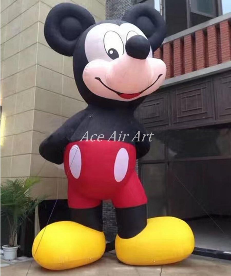 Giant outdoor reclame item inflatables klassieke cartoon event en tonen decoraties voor Winkel Open