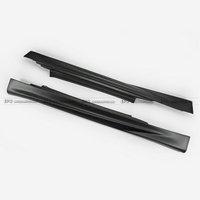 For Mini cooper R56 Ver.2.11/2.12 AG Style Fiber Glass Side Skirt Car Styling Side Bumper Extension Skirt FRP
