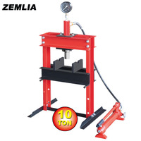10 Ton Shop Press Table Type With Gause General Maintenance Tools
