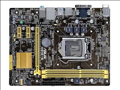 все цены на H81M-E   DVI Motherboard  structure 1150 pin machine board support Front USB3.0 онлайн