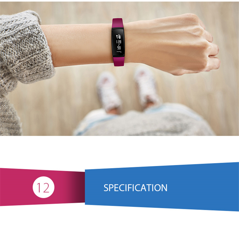Smart Bracelet Bluetooth Smart Band V07 Watches Blood Pressure Heart Rate Monitor Pedometer Fintess Tracker SMS Call Reminder 17