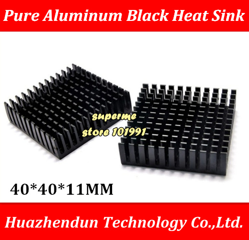 DEBROGLIE Computer Cooler Radiator Aluminum Heatsink Heat sink for Electronic Chip Heat dissipation Cooling Pads 40*40*11MM