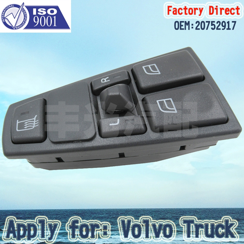 Factory Direct Truck parts Window regulator Switch 20752917 Apply for VolvoFL7 FM7 9 10 12 Power
