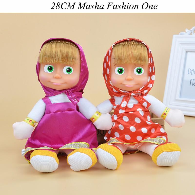 Маша и Медведь Мягкие Игрушки фото