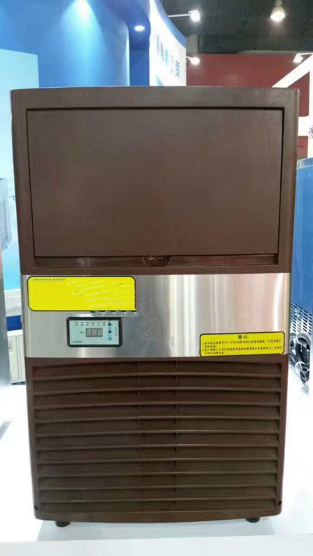 Systematic 220v 60hz Commercial Ice Making Machine For Peru Saudi Arabia Limpid In Sight