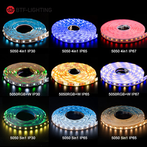 Image 5 - 5050 RGBW Led Lights 4pin RGB Led Strip 5pin 4 in 1 RGBWW RGBCW Led Strip Light 6pin 5 in 1 RGBCCT 5 meters 300 LEDs 12 24 Volt